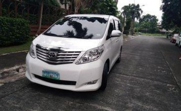 Sell Pearl White 2011 Toyota Alphard in Manila