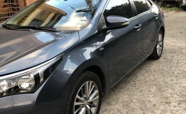 Grey Toyota Corolla Altis 2016 for sale in Manila