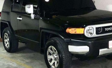 Sell Black 2018 Toyota Fj Cruiser in Makati