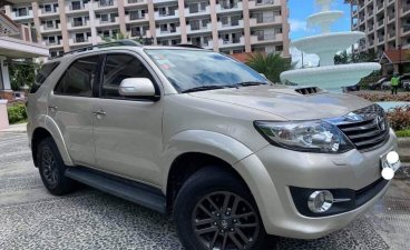 Silver Toyota Fortuner 2014 for sale in Antipolo