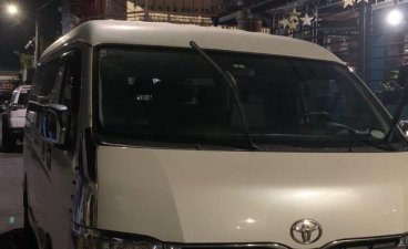 White Toyota Hiace 2012 for sale in Caloocan City
