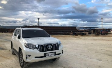 Selling Pearl White Toyota Prado 2018 in Cebu City