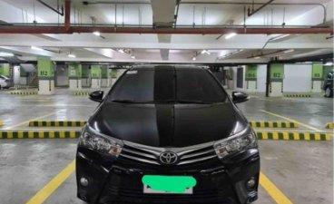 Sell Black 2015 Toyota Corolla Altis in Bonifacio