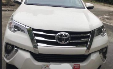 White Toyota Fortuner 2019 for sale in Cebu