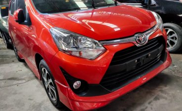 Orange Toyota Wigo 2020 for sale in Gapan