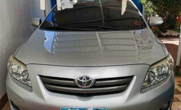 Silver Toyota Corolla Altis 2010 for sale in Cebu City