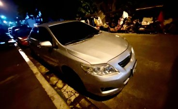 Brightsilver Toyota Corolla 2008 for sale in Quezon