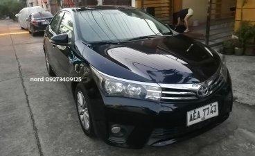Black Toyota Altis 2015 for sale in Manila