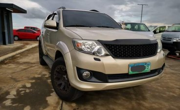 Silver Toyota Fortuner 2012 for sale in Calamba