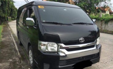 Selling Black Toyota Hiace 2015 in Bulacan