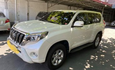 White Toyota Land Cruiser Prado 2014 for sale in Las Piñas