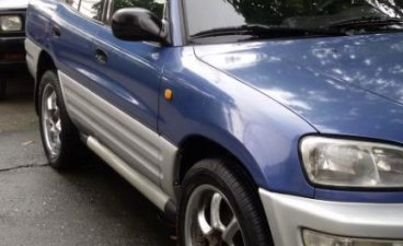 Blue Toyota Rav4 1999 for sale in Pasig City