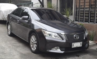 Grey Toyota Camry 2015 for sale in Quezon City