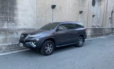 Black Toyota Fortuner 2017 for sale in Muntinlupa City
