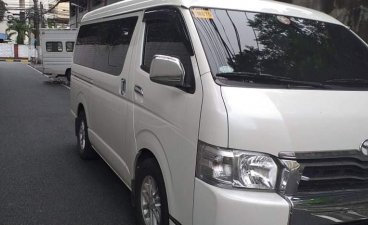 Silver Toyota Hiace Super Grandia 2018 for sale in General Trias