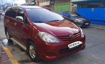 Red Toyota Innova 2010 for sale in Dagupan