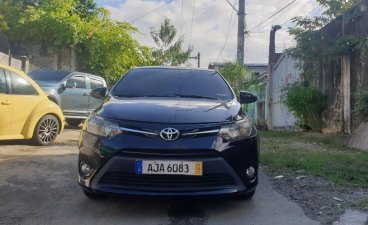 Black Toyota Vios 2015 for sale in Quezon City