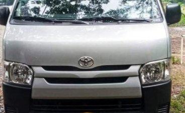 Silver Toyota Hiace 2014 for sale in Iloilo