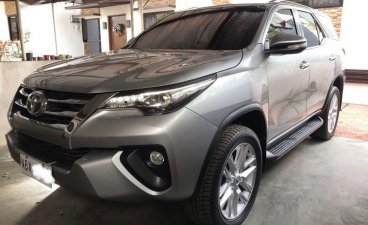 Silver Toyota Fortuner 2017 for sale in Lipa City