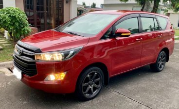 Sell Red 2019 Toyota Innova in Santo Tomas