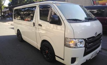 White Toyota Hiace 2017 for sale in Pasig City