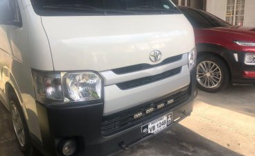 Sell White 2016 Toyota Hiace in Davao