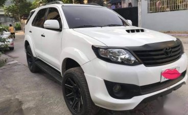 Sell White 2016 Toyota Fortuner in Olongapo City