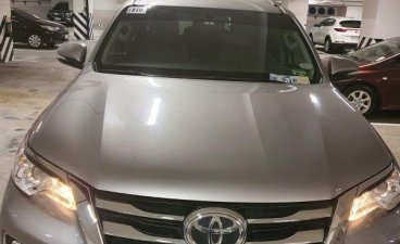 Selling Silver Toyota Fortuner 2017 in Quezon City