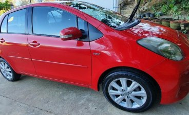 Sell Red 2013 Toyota Yaris in Subic