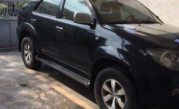 Selling Black Toyota Fortuner 2008 in Pasig