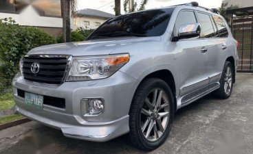 Silver Toyota Land Cruiser 2008 for sale in Manila