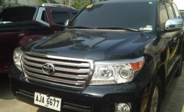 Selling Black Toyota Land Cruiser 2015 in Caloocan