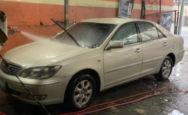 Beige Toyota Camry 2004 for sale in Quezon