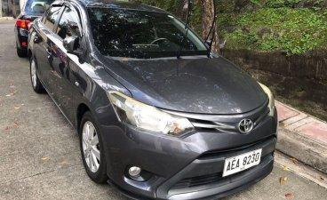 Selling Grayblack Toyota Vios 2014 in San Juan
