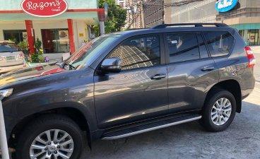 Grey Toyota Prado 2015 for sale in Quezon