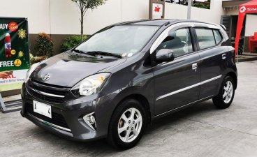 Grey Toyota Wigo 2015 for sale in Marikina