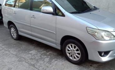 Silver Toyota Innova 2013 for sale in Bacoor