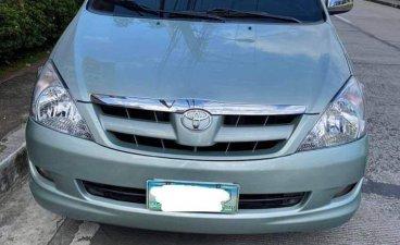 Silver Toyota Innova 2005 for sale in Manila