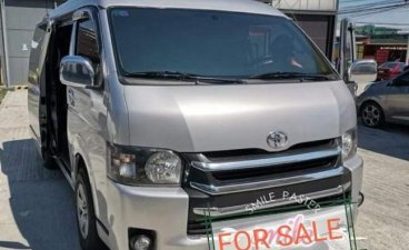 Silver Toyota Hiace Grandia 2013 for sale in Santo Domingo