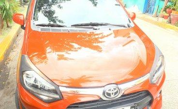 Selling Orange Toyota Wigo 2017 in Pasay