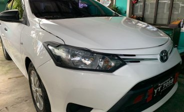 White Toyota Vios 2015 for sale in Taguig