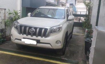 Selling Pearlwhite Toyota Land Cruiser Prado 2015 in Manila