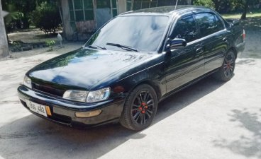 Selling Black Toyota Corolla 1997 in Floridablanca