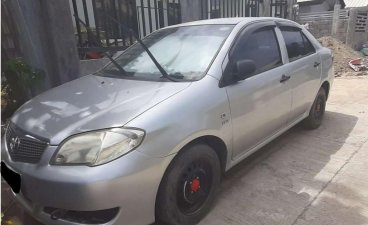 Selling Brightsilver Toyota Vios 2006 in Davao