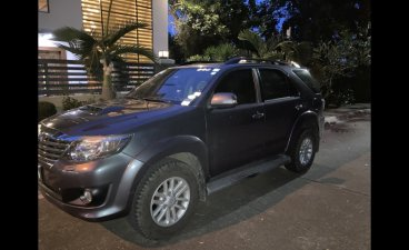 Selling Silver Toyota Fortuner 2012 in Taguig