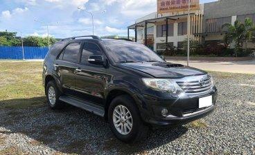 Black Toyota Fortuner 2013 for sale in Mandaue