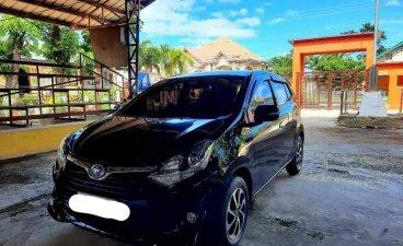 Selling Black Toyota Wigo 2017 in San Fernando