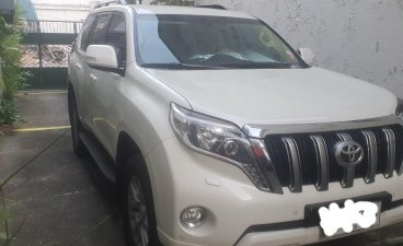 Selling Pearlwhite Toyota Land Cruiser Prado 2015 in Angeles