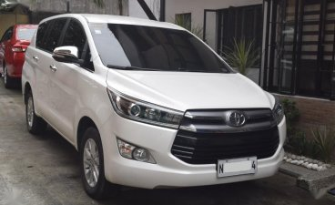 Selling Pearlwhite Toyota Innova 2016 in Quezon