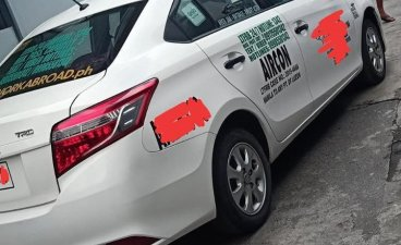 White Toyota Vios 2016 for sale in Quezon